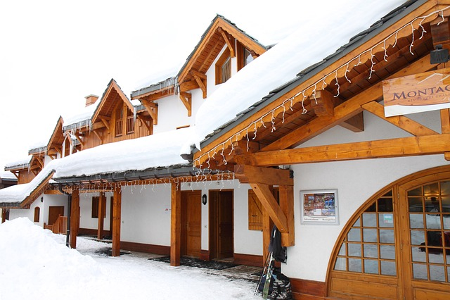 chalet luxe val thorens