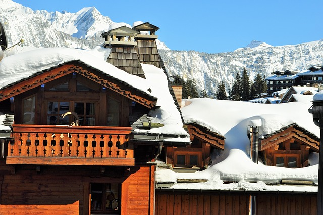 chalet val thorens vente